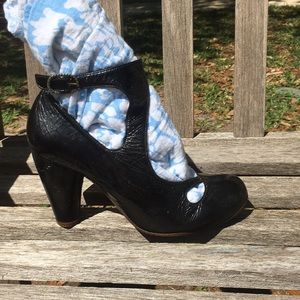 Chie Mihara heels with ankle buckle